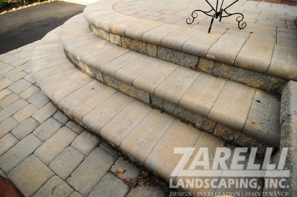 steps patio landscaping
