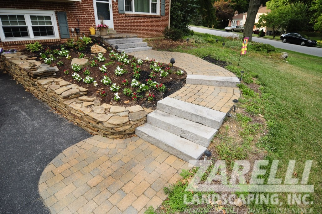 steps patio outdoor