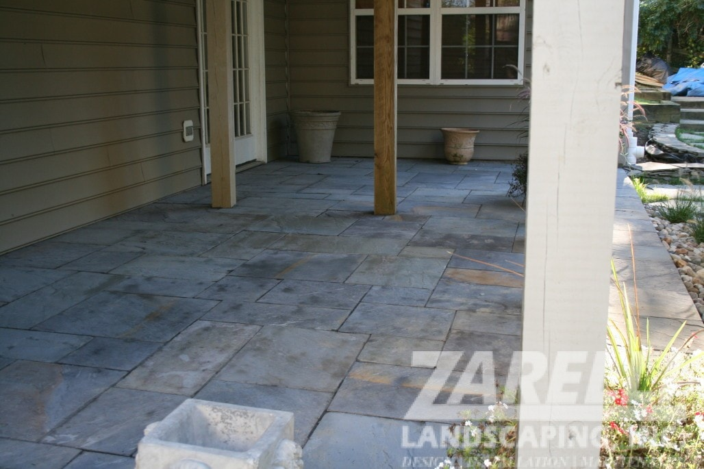 walkway patio walkout