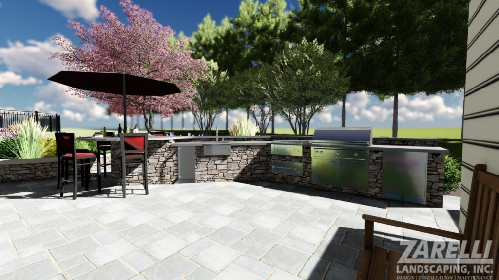 J. ZARELLI DAY RENDERS 10 Photo Landscape & Hardscape Inspiration Gallery