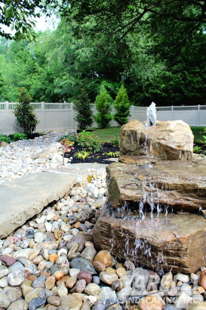 landscape water fountain Landscape & Hardscape Inspiration Gallery