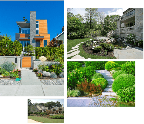 Landscaping and hardscaping pictures