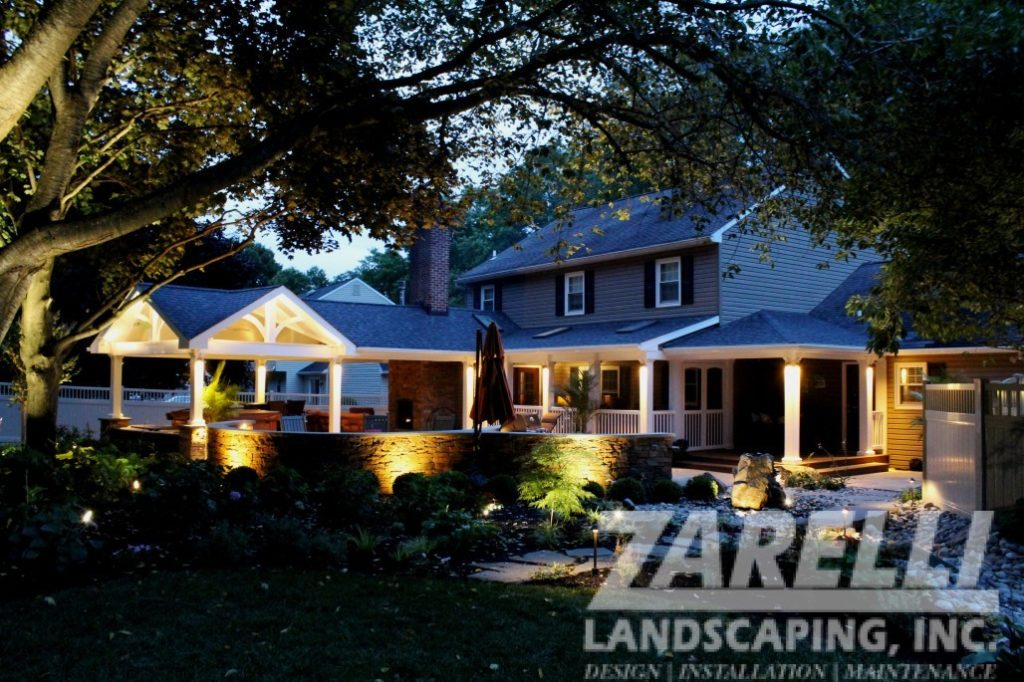 outdoor lighting patio exton Landscape & Hardscape Inspiration Gallery