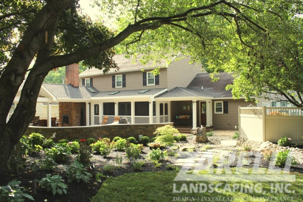 pavillion porch west chester Landscape & Hardscape Inspiration Gallery