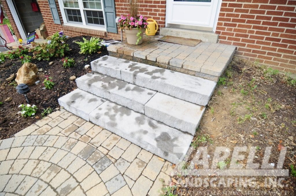 steps patio chadds ford Landscape & Hardscape Inspiration Gallery