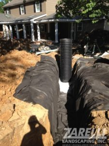 storm water management downspout Landscape & Hardscape Inspiration Gallery