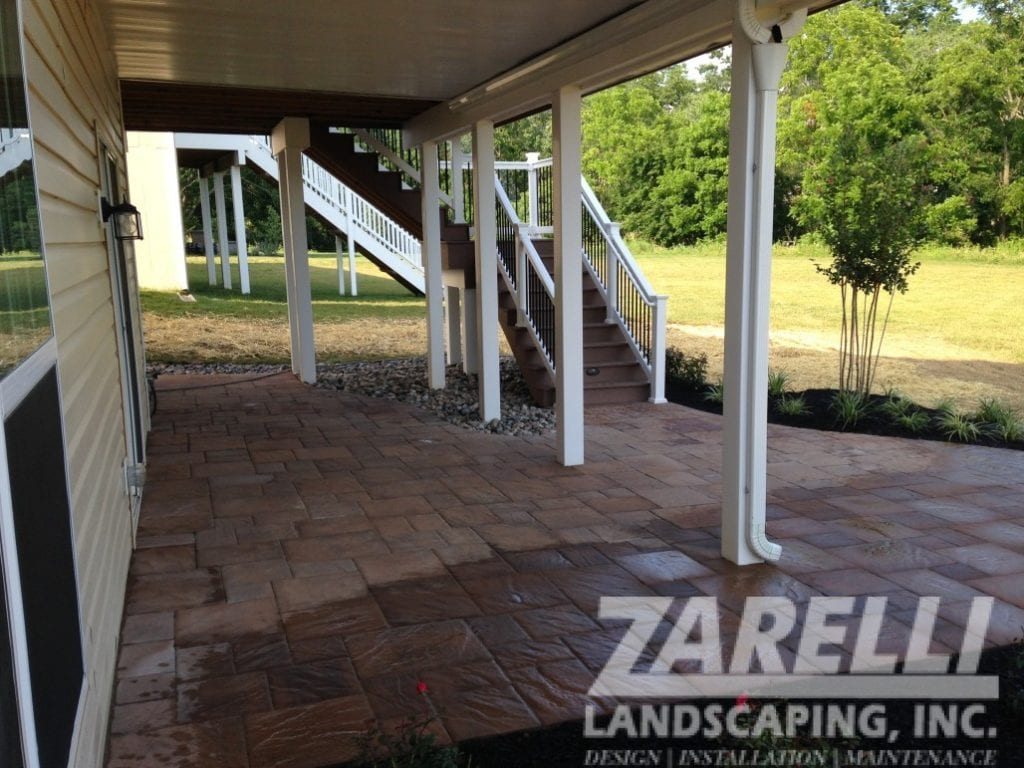 walkway patio under deck Landscape & Hardscape Inspiration Gallery
