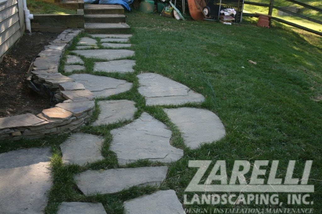 walkway stepping stones Landscape & Hardscape Inspiration Gallery