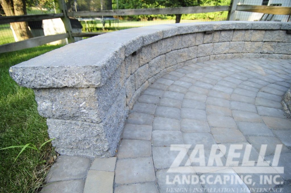 wall retaining fire pit Landscape & Hardscape Inspiration Gallery